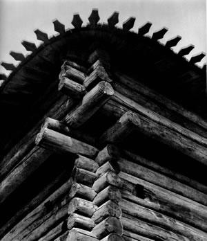 Рис.5. Облам по: Крадин Н.П. Русское деревянное оборонное зодчество. М., 1988.