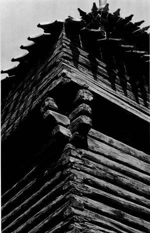 Рис.6. Облам по: Крадин Н.П. Русское деревянное оборонное зодчество. М., 1988.